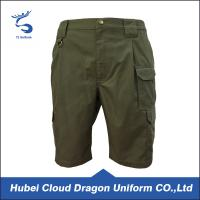 Wholesale Poly / Cotton Army Green Security Guard Pants , Mens Fashion Shorts All Season from china suppliers