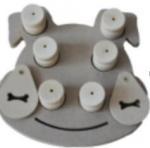 Wholesale Eco - Friendly Wooden Dog Activity ToysMulti Shapes Enhance Intelligence from china suppliers