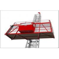 Wholesale 2000 kg Operate Cab Painted Passenger Hoist With Double Cage SC200 / 200 from china suppliers