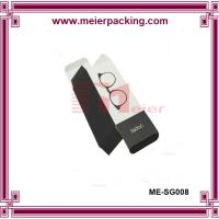 Wholesale 350gsm coated paper folding box, low price foldable sunglass packaging box ME-SG008 from china suppliers