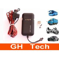 Wholesale Waterproof Vehicle GPS Tracker 9V - 70V DC 850 / 900 / 1800 / 1900MHz from china suppliers