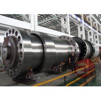 Wholesale Custom Water Turbine Forged Spindle Large Forging Shaft EN ASTM GB ISO from china suppliers