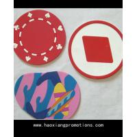 China Wholesale new creative love heat pad anti-scald restaurant placemats silicone coaster on sale