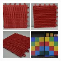 Wholesale Multipurpose Kindergarten Flooring Red Plastic , Floor Rubber Mats from china suppliers