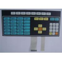 Wholesale 3M Adhesive Single Touch Screen Tactile Membrane Switch Keyboard 0.3mm - 1.5mm from china suppliers