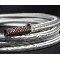Wholesale AN12 stainless fuel hose double braided fuel line universal car turbo oil cooler hose from china suppliers