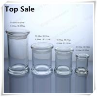 Wholesale a series of different size glass jars for candles in stock from china suppliers