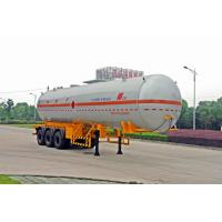 Wholesale Transportation Fuel Petroleum / Gas Tank Truck Capacity 58300L / Semi Trailer from china suppliers