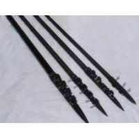 Quality 18FT light weight carbon fiber poles / telescopic outrigger adjustable height for sale