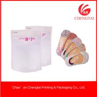 Wholesale Transparent Socks use Ziplock Clothing Packaging Bags Environment from china suppliers