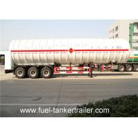 Wholesale Vacuum \ Multi - layer adiabatic LNG Semi Trailer for Liquefied natural gas from china suppliers