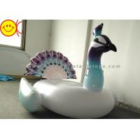 Quality Inflatable Peacock Swimming Pool Floats Ride On Party Tube Giant Raft Lounge Toy for sale