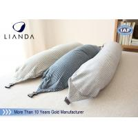 Wholesale U Shape Memory Foam Pillows / Travel Microbead Neck Pillow With Lycra Cover from china suppliers