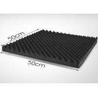 Wholesale EPDM Acoustic Foam Panels 50mm Self - Adhesive Wavy Sound Absorption Panels from china suppliers