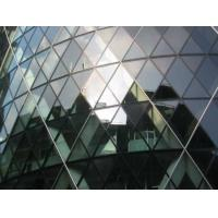Quality 6mm 8mm Tempered Solar Reflective Glass For Curtain Wall, Windows for sale