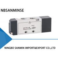 Wholesale YPC Type 5 Port 3 Way Solenoid Valve Pneumatic Sanmin 4A 100-L Series from china suppliers