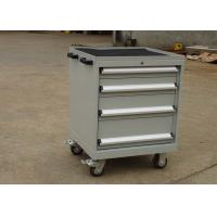 Wholesale Mobile Rolling Metal Tool Cabinet With Wheels / Drawers Multiple Surface Color from china suppliers