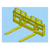 Wholesale Quick coupler pallet fork of SDLG wheel loader with 1.45m length of the tines from china suppliers