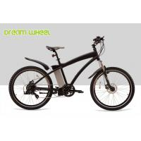 Wholesale Aluminum Electric Mountain Bikes E Bicycle 26 Inch Black Red White High Performance from china suppliers