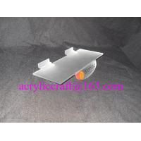 Wholesale Acrylic Slatwall Shoe Display Stand, Acrylic Shoe Shelving Display Stand with slatwall from china suppliers