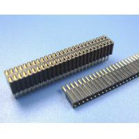 Quality China copy 1.27 mm pitch socket strip header female Header for LED screen single row for sale