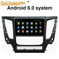 Wholesale Ouchuangbo car gps navi stereo android 6.0 for Mitsubshi Pajero 2017 with SWC USB bluetooth AUX 4*45 Watts amplifier from china suppliers
