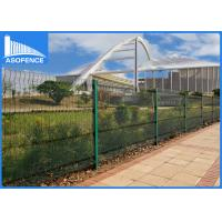 Wholesale Invisible Security 358 Steel Panel Fence , PVC Coated Wire Mesh Panels from china suppliers