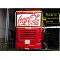 Wholesale Bus Advertisments with Super Thin and Light Bus Led Display from china suppliers
