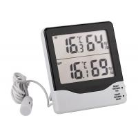 Wholesale Digital Big LCD indoor outdoor thermometer hygrometer with MAX MIN CLEAR from china suppliers