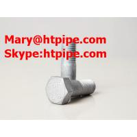 China SS304 stainless steel hex head bolt on sale