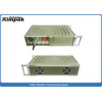 Wholesale Vehicle COFDM Transmitter , 100-200km Military Long Range Video Transmitter 20W RF from china suppliers