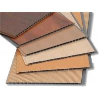 Wholesale Interior Decoration PVC Ceiling Panels Wooden Color PVC Paneling from china suppliers