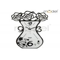 Buy cheap Novelty Digital Wall Sticker Clock , Personalized Art Deco Wall Clock For Office from wholesalers