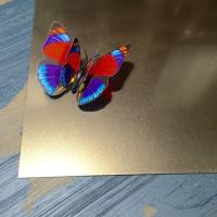 Wholesale High Quality Sand Blasting Etching Finish Cold Rolled Decorative Stainless Steel Sheet from china suppliers