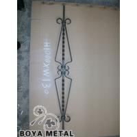 Quality Decoraitve Wrought Railings with Iron Basket for sale