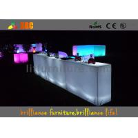 Wholesale Waterproof PE LED table , Bar Furniture for banquet & party from china suppliers
