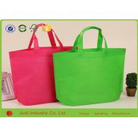 Wholesale Fashion Cotton Canvas Shopping Bags , Promotional Non Woven Carry Bags from china suppliers