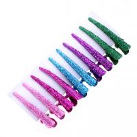 Wholesale 2016Fashion Colorful Hair pins Metail Hair clip for hair extension HairSectionClipsPin10pcs/card from china suppliers