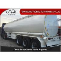 Wholesale Round 40000L 45000L 50000L Diesel Oil Fuel Tanker Semi Trailer from china suppliers