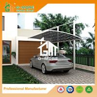 Wholesale 550 X 300 X 230CM White Color Easy DIY Polycarbonate & Aluminum Carport from china suppliers