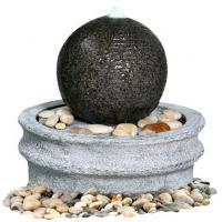 Quality Marble Ball Outdoor Sphere Water Fountains Outdoor / Indoor Sphere Garden Fountain for sale