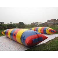 Wholesale Big Colorful Inflatable Water Launch , Water Blob For Water Tower from china suppliers