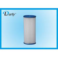 Wholesale 1 µm 68mm PP Pleated Filter Cartridge / 20 Inch Water Filter Cartridge from china suppliers