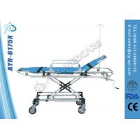Wholesale Adjustable Stainless Steel Bariatric Ambulance Stretcher With PU Cover Mattress from china suppliers