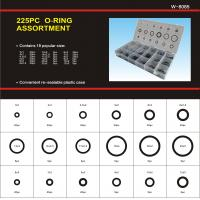 Wholesale NBR / Silicone / Viton O-Ring Seal Kit, Approved AS568 Standard With 18 Sizes 225 PCS O-Rings from china suppliers