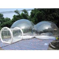 Wholesale Family Camping Inflatable Bubble Tent  3m - 6m Clear With Air Sealed Technic from china suppliers