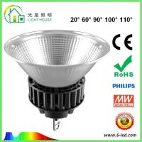 Wholesale Energy Saving 100 Watt Led High Bay Light For Commercial Lighting , 100-120LM/W Efficiency from china suppliers