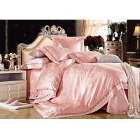 Wholesale Red Elegant Satin Silk Bedding Sets Beautiful Bed Linen Pillowcase Flat Sheet from china suppliers