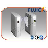 Quality 2 Lanes Automated Access Control Turnstiles For Time Attendance for sale