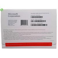 Quality Microsoft Windows 10 Home / Pro OEM 64 Bit Package Software DVD + COA License for sale